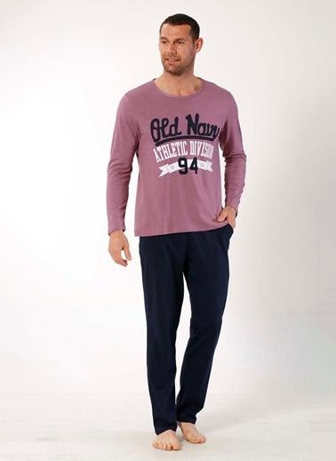 Mia Misenza Pamuklu Likralı Pijama Takım Renkli